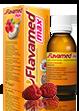 Butelka syropu Flavamed® 30 mg / 5 ml z łyżeczką dozującą